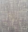 Apparel Linen Linen Fabric -Gray Check