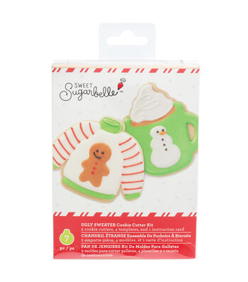 Sweet Sugarbelle Christmas Cookie Cutter Kit-Ugly Sweater