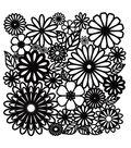 Crafter\u0027s Workshop 12\u0022x12\u0022 Template-Flower Frenzy
