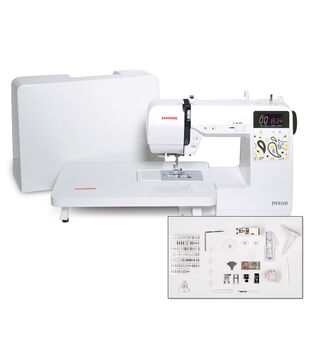 Janome JW8100 100-stitch Computerized Sewing Machine