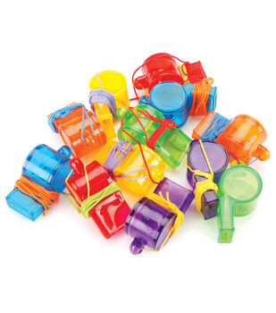 Party Favors 12/Pkg-Sports Whistles