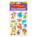 Awesome Animals-Tutti-Frutti Stinky Stickers 52 Per Pack, 6 Packs