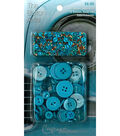 The Button Artist Buttons & Beads Turquoise