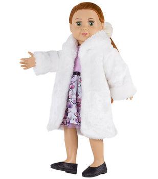 Springfield Boutique Fur Coat White