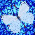 Diamond Dotz Diamond Embroidery Facet Art Kit 14\u0027\u0027X14\u0027\u0027-Flutterby White