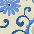 Waverly Upholstery Fabric 13x13\u0022 Swatch-Pom Pom Play Larkspur