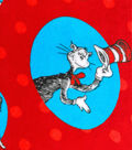 Cat In The Hat Micro Velvet Fleece 58\u0022-Cat In The Hat Toss
