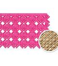 NY Cake Double Diamond Embosser-Pink