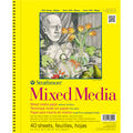 Strathmore Mixed Media Vellum Paper Pad 9\u0022X12\u0022-90lb 40 Sheets