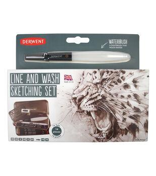 Derwent Line/Wash Sketch Pencil Set