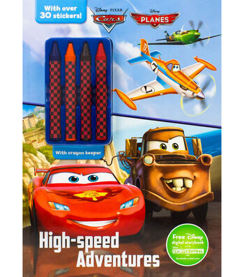 Parragon Disney Cars & Planes High-Speed Adventures Activity Book