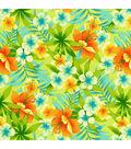 Tommy Bahama Lightweight Decor Fabric 54\u0022-Sugar Beach/Coral Reef