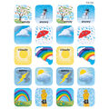 Teacher Created Resources Weather Stickers 12 Packs