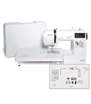 Janome JW8100 100-stitch Computerized Sewing Machine