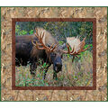 Quilt Kit-Kings Camo Moose  by Riley Blake