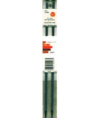 """Boye Single Point Aluminum Knitting Needles 10""""-Size 11"""