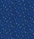 Christmas Glitter Cotton Fabric-Mini Snowflakes
