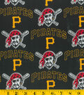 Pittsburgh Pirates Cotton Fabric -Mascot
