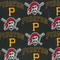 Pittsburgh Pirates Cotton Fabric -Mascot