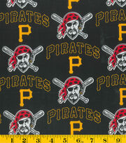 Pittsburgh Pirates Cotton Fabric -Mascot, , hi-res