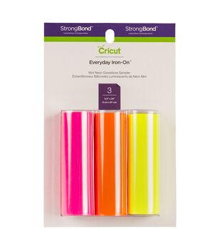 Cricut Everyday Iron-On Mini Sampler-Neon Glowsticks