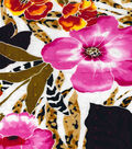 Fashion Cotton Fabric- Swiss Dot Botanical Multi