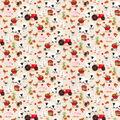 Novelty Cotton Fabric-Fall Farm Scene
