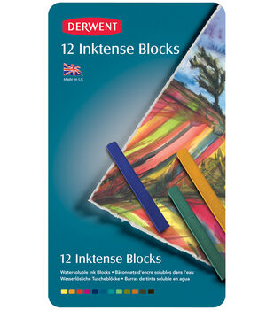 Derwent Inktense Blocks 12 Pack