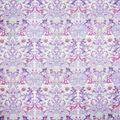 Premium Cotton Fabric- Light Purple Maeve Bird Damask