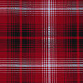 Christmas Cotton Fabric-Holiday Red Plaid