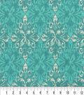 Keepsake Calico Cotton Fabric 44\u0022-Diopside Breeze
