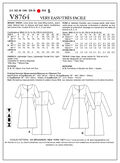 Vogue Patterns Misses Dress-V8764