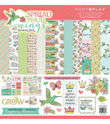 Photoplay Paper Spread Your Wings 12''x12'' Collection Pack