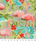 PKL Studio Outdoor Fabric 9\u0022x9\u0022 Swatch-Flamingoing Platinum