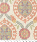P/K Lifestyles Upholstery Fabric 13x13\u0022 Swatch-Global Attraction Butternut