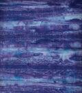 Batik Cotton Fabric 44\u0022-Tonal Stripes Purple