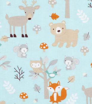 Super Snuggle Flannel Fabric-Sweet Woodlanders