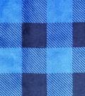 Sew Lush Fabric -Blue Buffalo Check