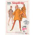 Simplicity Pattern 7173 Misses\u0027 Jiffy Poncho