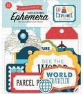 Echo Paper Company Ephemer Die Cut Frames & Tags-Go See Explore