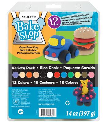Sculpey Bake Shop Variety Pack-12PK