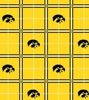 "University of Iowa Hawkeyes Flannel Fabric 42""-Plaid, , hi-res"