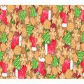 Christmas Cotton Fabric-Cookies