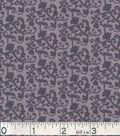 Keepsake Calico Cotton Fabric 43\u0022-Tonal Vine Gray