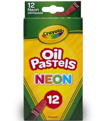 Crayola Neon Oil Pastels 12/Pkg