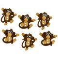 Jesse James Dress It Up Sew Cute Monkey Button Embellishments
