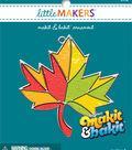 Little Makers Makit & Bakit Suncatcher Ornament-Leaf