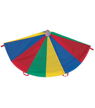 Multi-Colored Parachute, 20' Diameter, 16 Handles