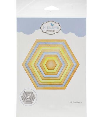 Elizabeth Craft Metal Die-Fitted Hexagons