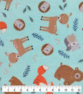 Nursery Warm Fabric-Eamon Tossed Animals